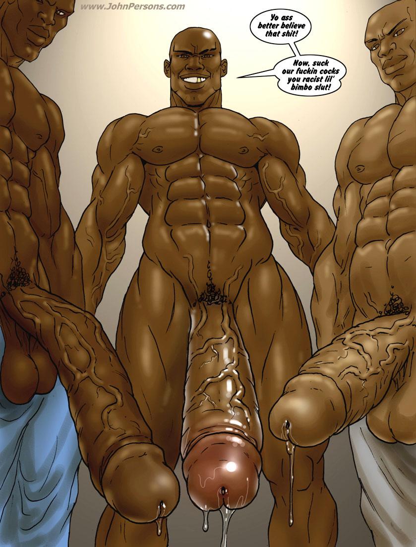 gay black cartoon porn