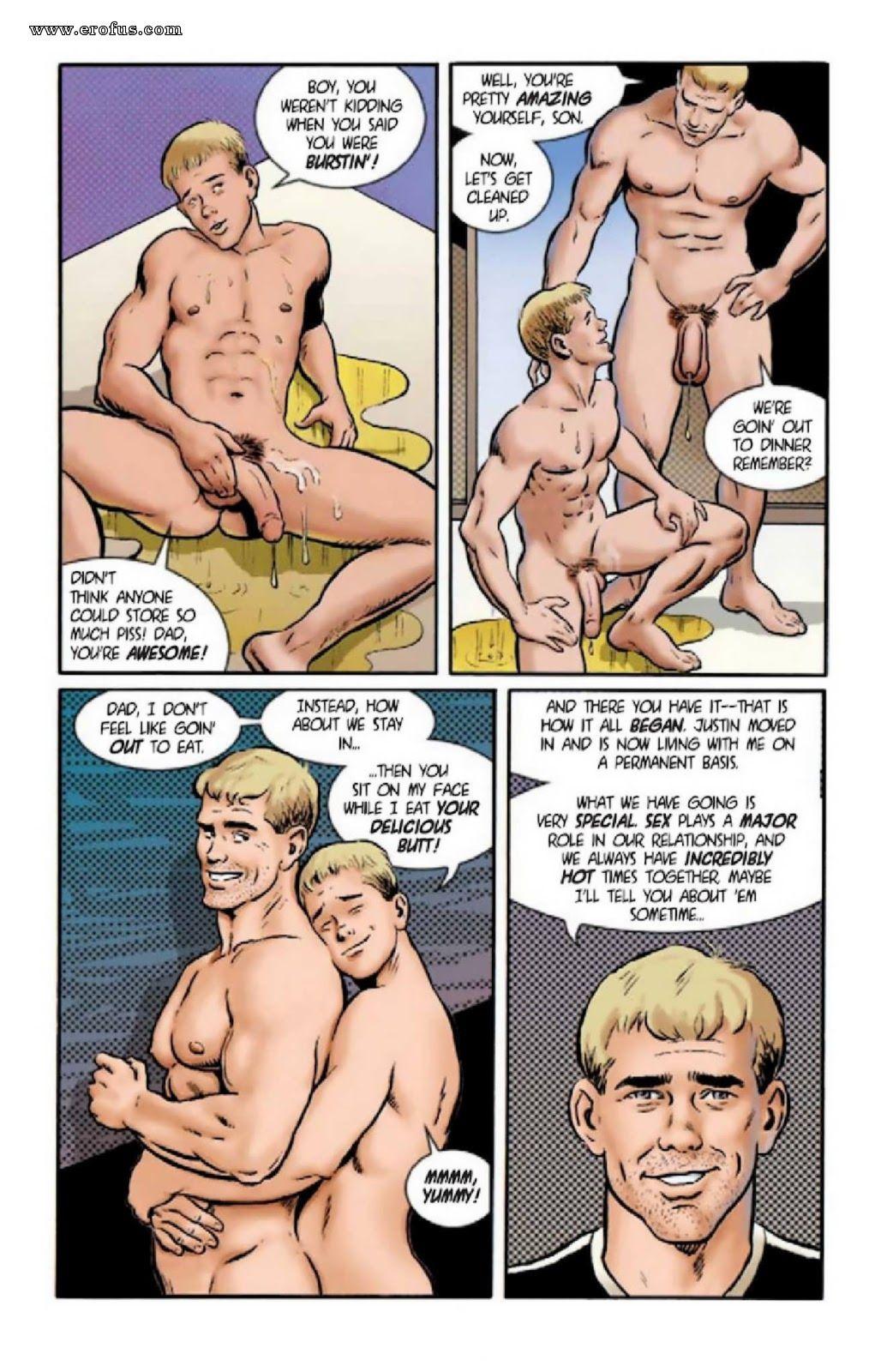 gay father son cartoon porn