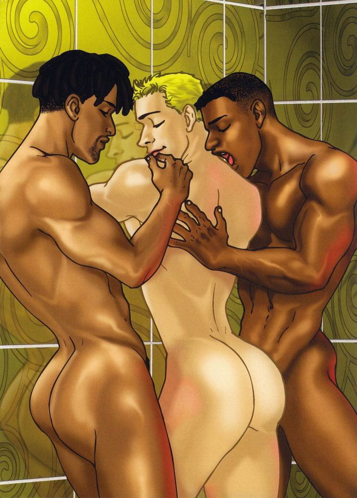 gay black cartoon porn
