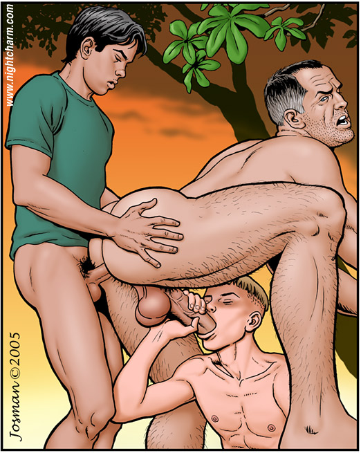 gay hot cartoon porn